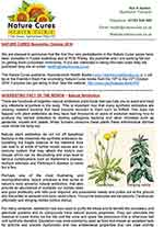Nature Cures newsletter